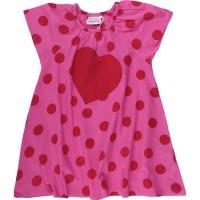 Vorschau: Leichtes Sommerkleid Mädchen Popelin - pink