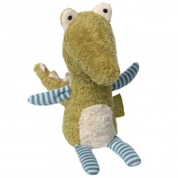 Bio Kuscheltier Mini Krokodil 22cm