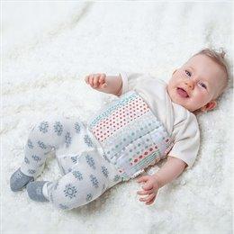 Bio-Burst- und Bauchwickel für Babys 1-12 Monate