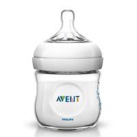 Vorschau: Milchflasche AVENT Naturnah 125 ml Gr. 0 m+
