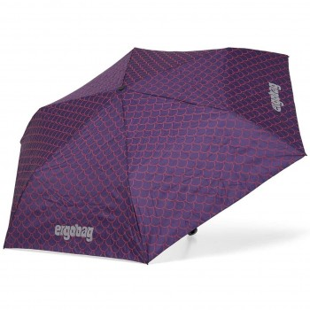 Kinder Regenschirm lila Meerjungfrau