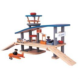 Spielzeug Flughafen aus Holz