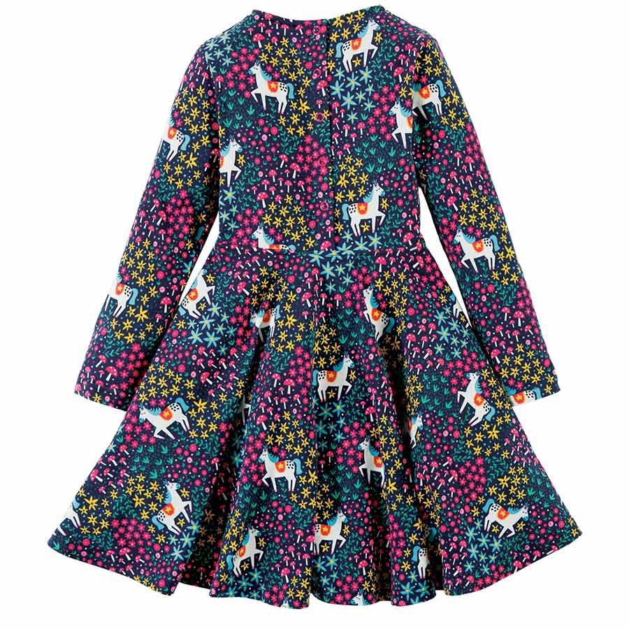 Einhorn Kleid Mädchen Bio frugi