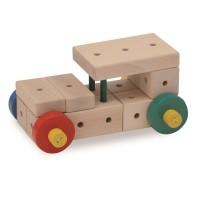 Matador Ki2 Holzspielzeug mit Hammer 108tlg