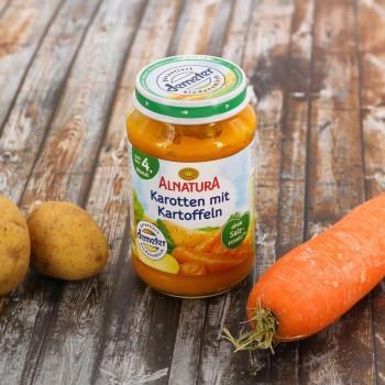 Karotte & Kartoffel für Babys nach dem 4. Monat (190g)