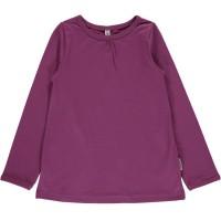 A-Linie Mädchen Langarmshirt lila