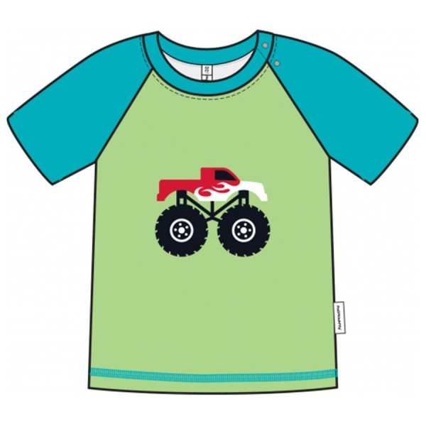 Softes Monster Truck Kinder T-Shirt | greenstories