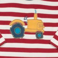 Vorschau: Super softer dickerer Babystrampler Traktor
