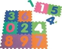 Puzzlematte 10-teilig - 0 bis 9