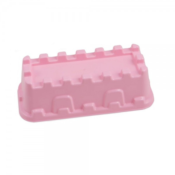 Sandform Burgmauer - rosa
