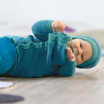 Wickeljacke Baby in lagoon türkis