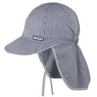 Capi Schirmmütze Nackenschutz navy
