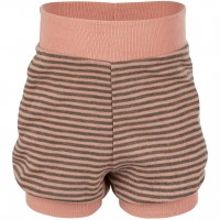 Babyshorts Wolle Seide in lachs