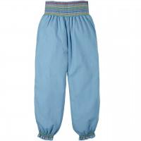 Locker, leichte Harem Hose in jeans-blau