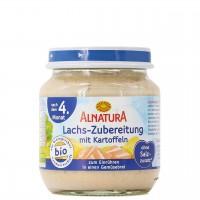 Lachs-Zubereitung Breizugabe nach 4 Monaten (125g)