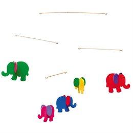"""Holz Mobile für Babys """"Elefant"""""""