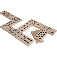 Holz Domino mit Beutel ab 3 Jahre
