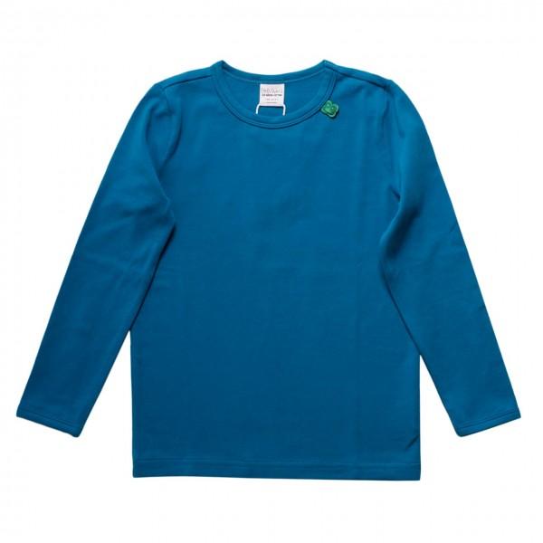 Deep Blue Langarmshirt Basic