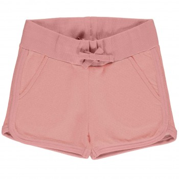 Kurze Sweat Shorts rosa