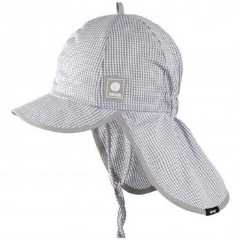 Capi Schirmmütze Nackenschutz grau