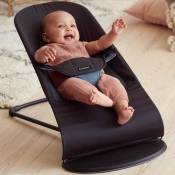 Balance Soft Wippe - ergonomisch, schwarz-grau