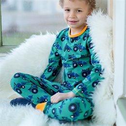 Traktor Jungen Bio Schlafanzug leicht