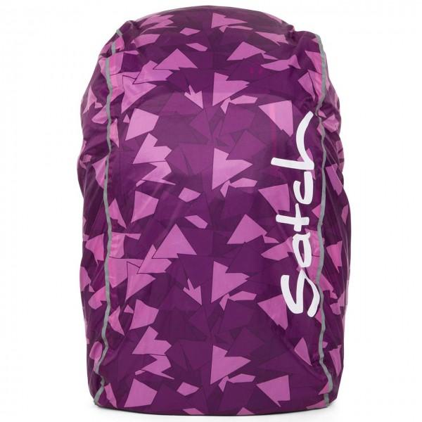 Regencape für satch Schulrucksack lila