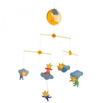 Mobile Kleine Sterne Babyzimmer Deko