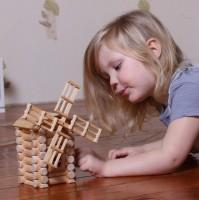 Vorschau: Beliebte Windmühle 47-tlg. - freies Bauen & konstruieren