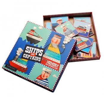 Kinder Gedächtnispiel Ships and Captains 3 - 7 Jahre
