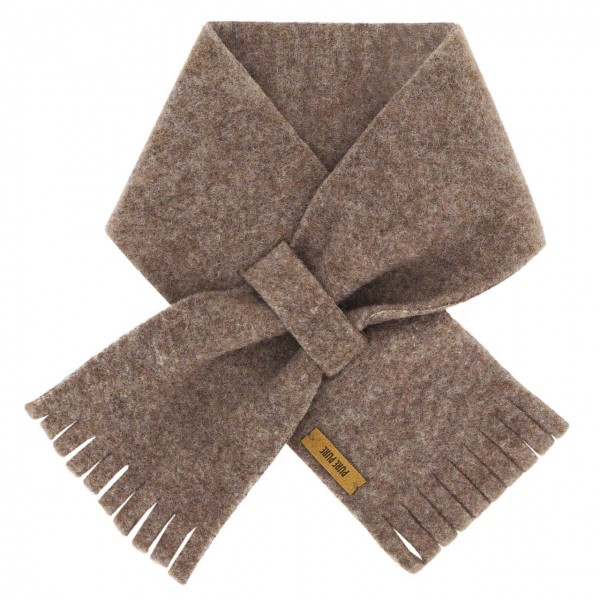 Steckschal Wolle 70 cm ca. 1-3 Jahre walnuss