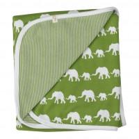 Vorschau: Babydecke / Wendedecke Elefantenkarawane