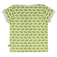 Vorschau: Wale T-Shirt von Loud + Proud grün