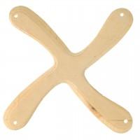 Holz Bumerang 4 Flügler - Bauset ab 12 Jahre