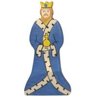 König aus Holz z.B. für die Ritterburg