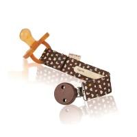 Vorschau: HEVEA Schnullerband aus BIO-Baumwolle