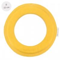 Grosser super weicher Wurfring LOOP Frisbee honey-gelb