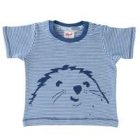 Shirt kurzarm Maulwurf blau