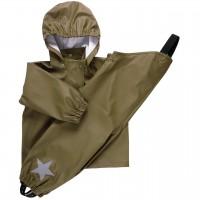 Regenbekleidung Set ungefüttert in moosgrün