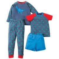 Jungen Schlafanzug Set - kurz und lang