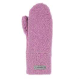 Bio Schurwolle Kinder Handschuhe altrosa