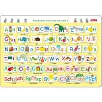 Lerntafel 45 x 32 cm Buchstaben Laute ab 6 Jahre