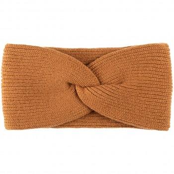 Damen Wolle Kaschmir Stirnband braun