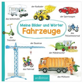 "Erstes Wörterbuch ""Fahrzeuge"" – Babybuch ab 18 Monate"