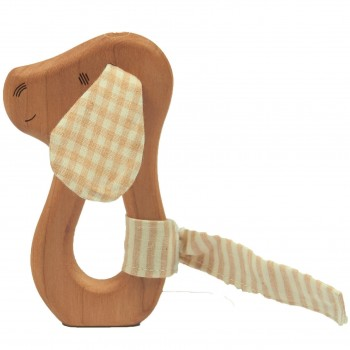 Greifling Holz Hund