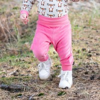 Warme Nicki Babyhose pink