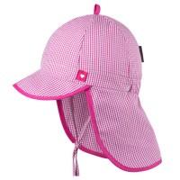 Capi Schirmmütze Nackenschutz rosa