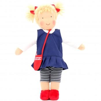 Bio Puppe zum Ankleiden 38 cm - Judith