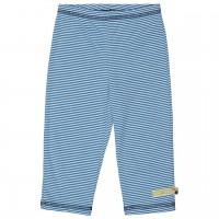 Leichte Sommerhose Ringel blau