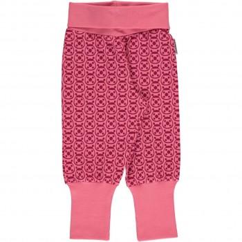 Mädchen Marienkäfer Krabbelhose pink